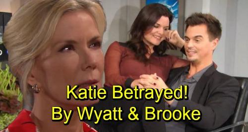 The Bold and the Beautiful Spoilers: Katie Furious As Brooke and Wyatt Testify For Bill At Custody Hearing - Betrayal Runs Deep