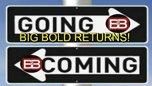 The Bold and the Beautiful Spoilers: Comings and Goings – Big B&B Comebacks – Special Guest Star Stops By