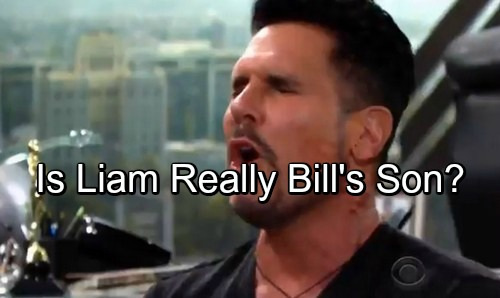 The Bold and the Beautiful Spoilers: Is Liam Really Bill's Son? - Future Paternity Test Hints At Reversal
