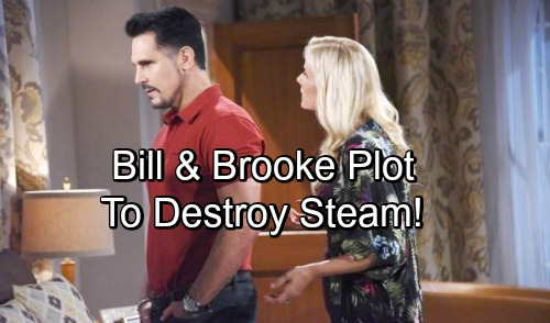 The Bold and the Beautiful Spoilers: Brooke Teams Up with Bill to Tear 'Steam' Apart – Fierce Mom Fights for Hope's Happiness