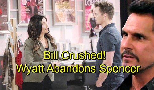 The Bold and the Beautiful Spoilers: Bill Explodes As Wyatt Resigns From Spencer - Yet Another Crushing Loss