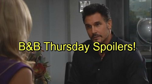 'The Bold and the Beautiful' Spoilers: Donna Returns, Bill Admits Wedding Problem – Brooke Asks If Ridge Loves Her