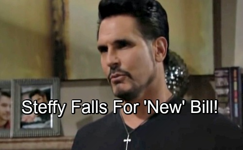 The Bold and the Beautiful Spoilers: Bill's Redemption Changes the Game – Becomes Viable Option for Steffy, Not Just Creepy Stalker