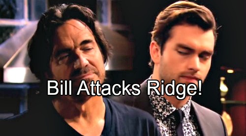 The Bold and the Beautiful (B&B) Spoilers: Bill Learns Ridge's Paternity Secret – Plans Takeover of Forrester Creations