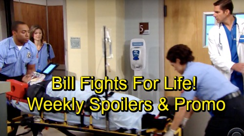 The Bold and the Beautiful Spoilers: Week of October 22-26 – Heated Showdowns, Life or Death Coma, and Wedding Battle