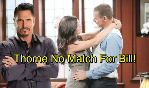 The Bold and the Beautiful Spoilers: Bill Makes A Play For Katie – Thorne Loses To Rival