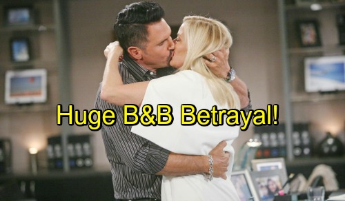 The Bold and the Beautiful Spoilers: Crushing B&B Betrayal – Hope-Steffy Feud Takes a Toll, Brooke Cheats with Bill