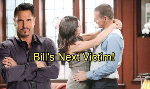 The Bold and the Beautiful Spoilers: Manipulative Bill Finds His Next Victim – Steffy's Safe, But Katie's in Trouble