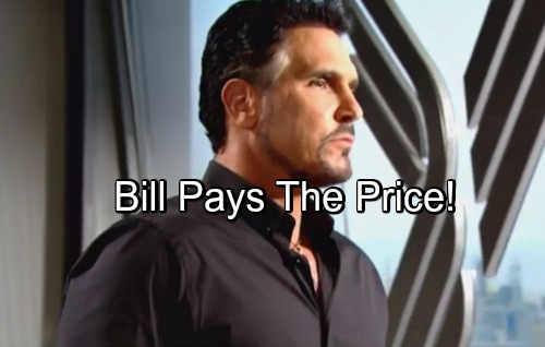 The Bold and the Beautiful Spoilers: Bill Gets What He Deserves – Cruel Manipulator Faces Shocking Consequences