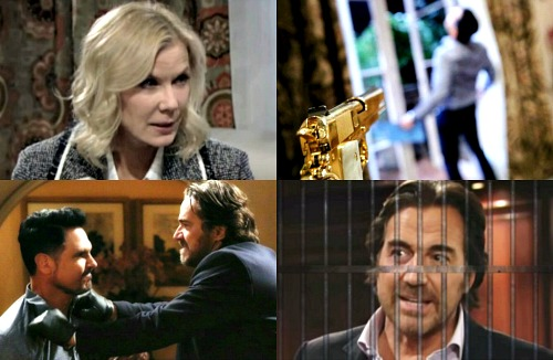 The Bold and the Beautiful Spoilers: Week of March 26 - Bill Faces Brooke's Wrath Over Ridge Being Thrown in Jail
