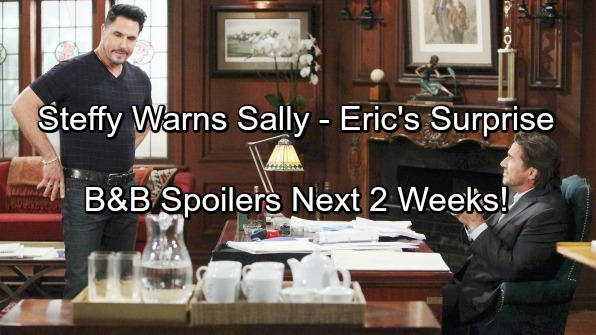 The Bold and the Beautiful Spoilers: Next 2 Weeks: Furious Steffy Warns Sally – Ridge Enrages Bill – Eric's Surprise Move