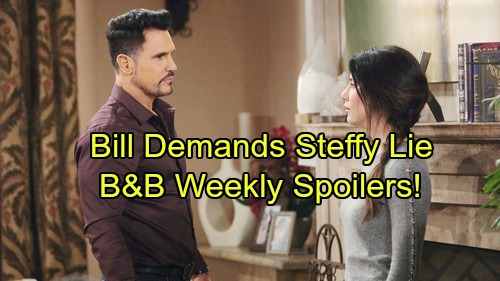 The Bold and the Beautiful Spoilers: Week of November 27 - Steffy Considers Telling Liam – Bill Warns Price Is Too Steep