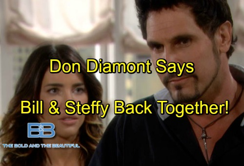 'The Bold and the Beautiful' Spoilers: Don Diamont Dishes on Bill's Love Life - Back Together With Steffy