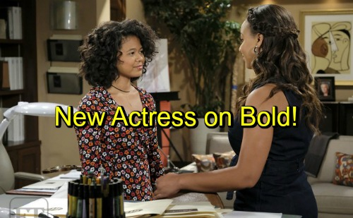 The Bold and the Beautiful Spoilers: Wayne Brady's Daughter, Maile, Makes Acting Debut on B&B