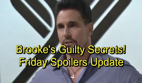 The Bold and the Beautiful Spoilers: Friday, September 21 Update - Brooke's Guilty Secrets - Ridge Tampers With The Judge