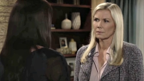 The Bold and the Beautiful Spoilers: Katie and Brooke Debate Quinn's Possible Death Threat, Fear for Liam – Ridge Gets a Shock