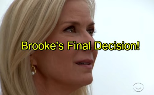 The Bold and the Beautiful Spoilers: Ridge's Final Push for Brooke's Heart – RJ Helps Dad Pull Off Plan, Brooke Brought to Tears