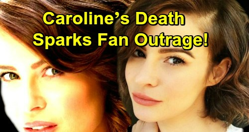 The Bold and the Beautiful Spoilers: Caroline's Death Sparks Fan Outrage – Was It a Mistake to Kill Her Off?
