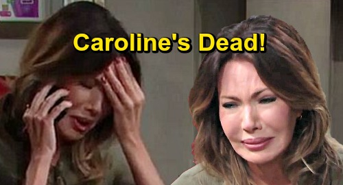 The Bold and the Beautiful Spoilers: Caroline's Death Brings Devastation – Crushing Blow Brings Thomas and Douglas Home to Heal