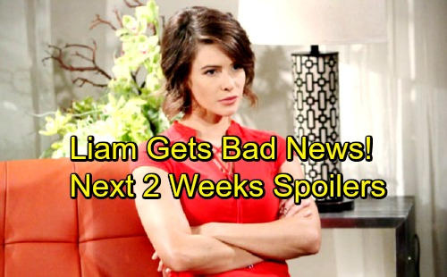 The Bold and the Beautiful Spoilers for Next 2 Weeks: Liam Gets Bad News - Caroline's Desperate Mission – Shock Suspects Emerge