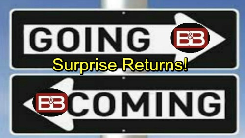 The Bold and the Beautiful Spoilers: Comings and Goings – Hunter Tylo Hints Surprise Returns – B&B Alum's Scary Accident
