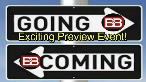 The Bold and the Beautiful Spoilers: Comings and Goings – Familiar Faces Return for Drama – Guests for Exciting Preview Event