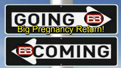 The Bold and the Beautiful Spoilers: Comings and Goings – Big Return for Hot Pregnancy Story – B&B Alum Confirmed at Days