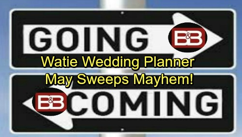 The Bold and the Beautiful Spoilers: May Sweeps Mayhem – Casting Bombshell Points to Katie and Wyatt Wedding Disaster