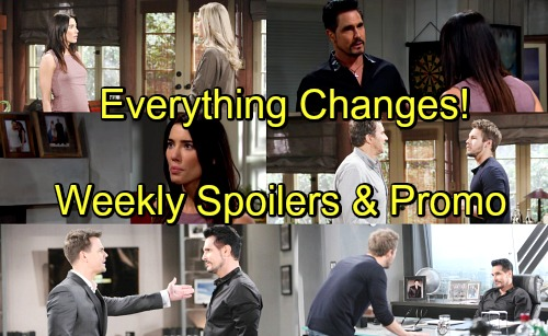 The Bold and the Beautiful Spoilers: Week of May 28 – Steffy Tumbles After Faceoff with Bill – Liam and Wyatt Unleash Fury
