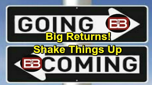 The Bold and the Beautiful Spoilers: Comings and Goings – Big Returns Ahead on B&B – Mysterious Debuts Shake Things Up