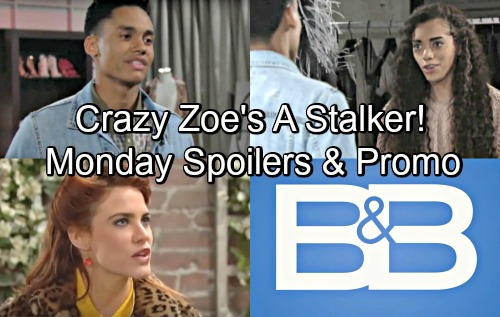 The Bold and the Beautiful Spoilers: Monday, July 16 – Xander Tells Crazy Zoe to Get Lost – Sally's Backed into a Tricky Corner