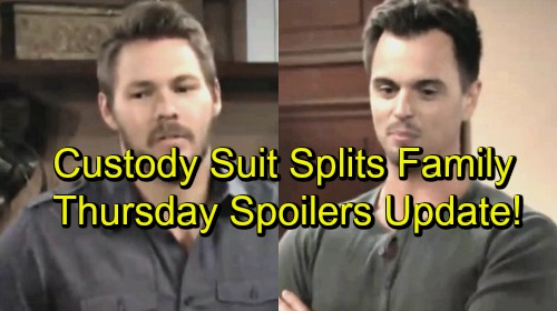 The Bold and the Beautiful Spoilers: Thursday, September 20 - Liam and Wyatt Compare Custody Subpoenas - Bill Won't Bow Down