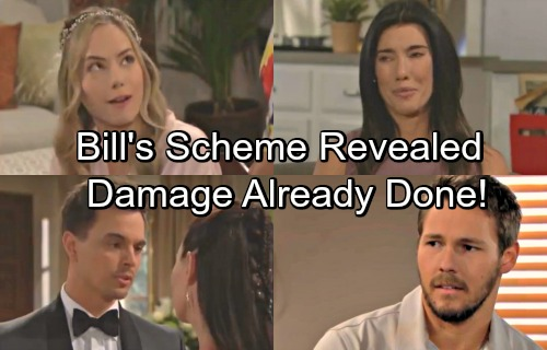 The Bold and the Beautiful Spoilers: Bill's Scheme Revealed But The Damage Is Done – Liam, Steffy, and Hope Rocked By Changes