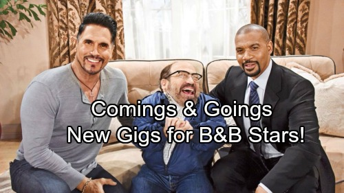 The Bold and the Beautiful Spoilers: Casting News – Comings and Goings – More Thorne Info, New Gigs for B&B Stars