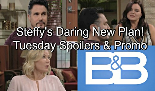The Bold and the Beautiful Spoilers: Tuesday, August 14 – Steffy Reveals Daring New Plan – Bill and Katie Spar Over Old Wounds