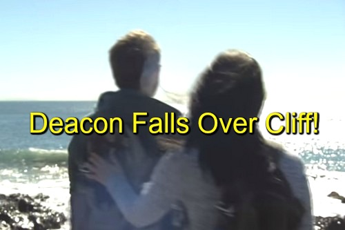 The Bold and the Beautiful (B&B) Spoilers: Deacon Falls Over Cliff or Pushed by Scheming Quinn - Sean Kanan Killed Off?
