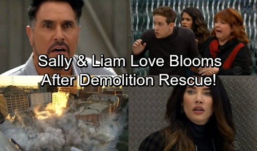 The Bold and the Beautiful Spoilers: Love Brews For Sally and Liam After Demolition Rescue - Bill and Steffy Pulled Closer