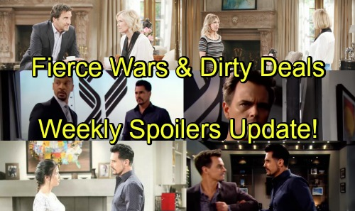 The Bold and the Beautiful Spoilers: Week of May 14-18 Update – Fierce Wars, Exposed Secrets and Dirty Deals