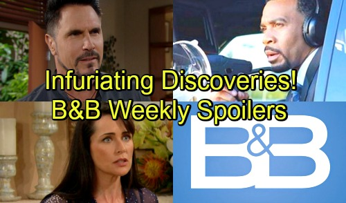 The Bold and the Beautiful Spoilers: Week of November 12-16 – Dirty Tricks, Fierce Conflict and Infuriating Discoveries