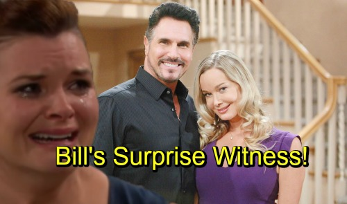The Bold and the Beautiful Spoilers: Donna Logan Custody Shocker - Bill's Surprise Witness Revealed?
