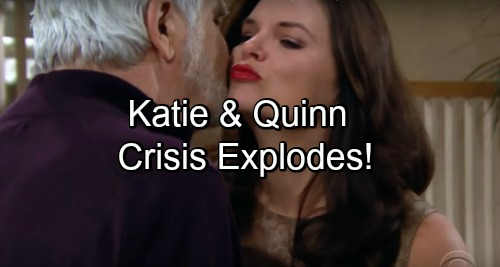 The Bold and the Beautiful Spoilers: Katie Anxious Over Quinn, Fears Eric Will Get Hurt – Quinn Revs Up Her Threat