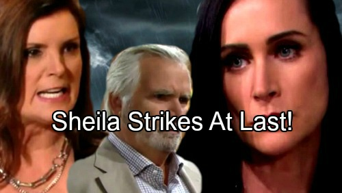 The Bold and the Beautiful Spoilers: Sheila Finally Strikes Eric and Quinn – Final Plot Leads to Deadly Shocker