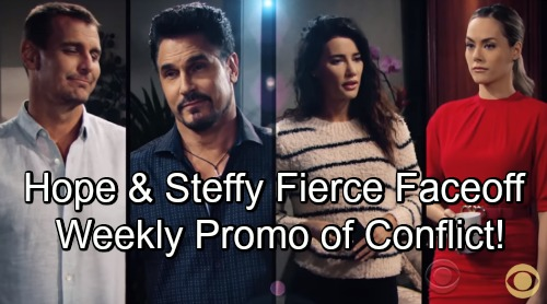 The Bold and the Beautiful Spoilers: Exciting Week of September 3 Promo – Hope and Steffy's Fierce Faceoff – Bill's Rage Boils Over