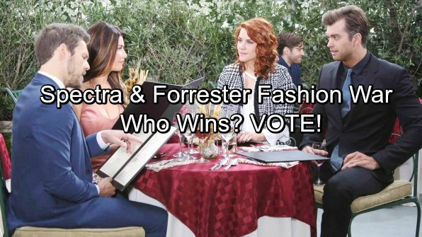 The Bold and the Beautiful Spoilers: Steffy, Thomas and Sally Go to War – Spectra and Forrester Battle It Out in Fashion Faceoff
