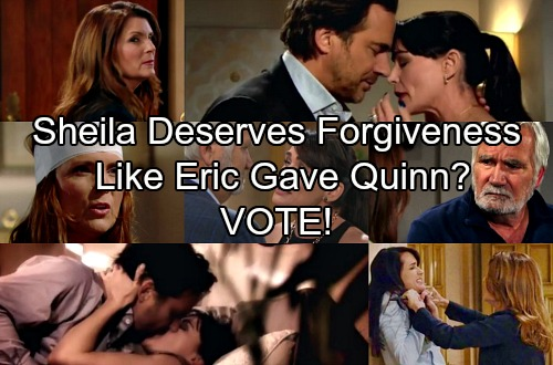 The Bold and the Beautiful Spoilers: Sheila Making Progress With Eric – Does She Deserve Forgiveness Like Quinn?