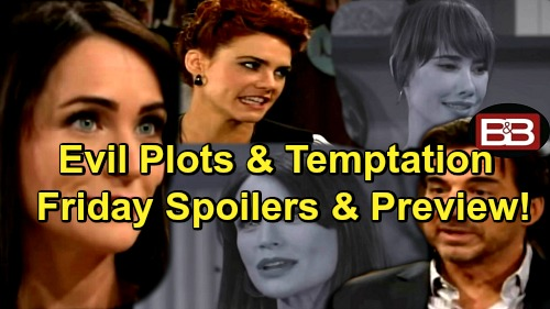 The Bold and the Beautiful Spoilers: Shirley Wants Thomas to Sell Out Forresters – Quinn Doomed by Ridge's Magnetism