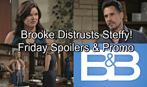 The Bold and the Beautiful Spoilers: Friday, August 31 – Brooke Bashes Steffy and Liam's Connection – Katie Ignores Bill's Threat