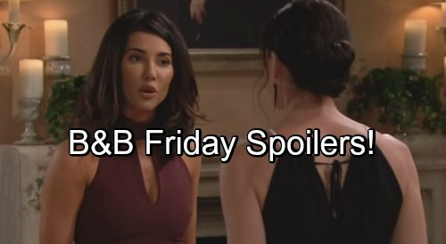 'The Bold and the Beautiful' Spoilers: Quinn Fights for Love, Steffy Wants Rid of Psychopath – Sasha and Thomas Cozy Up