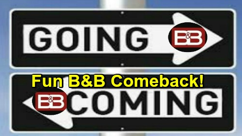 The Bold and the Beautiful Spoilers: Comings and Goings – Fun B&B Comeback Ahead