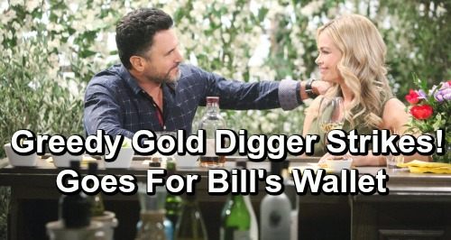 The Bold and the Beautiful Spoilers: Shauna's Gold-Digging Side Takes Control – Greedy Mom Targets Bill